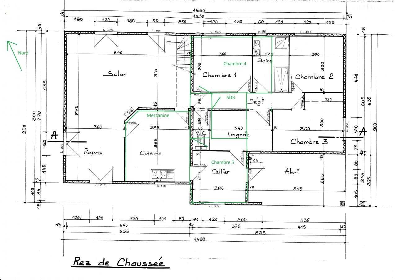 Plan de maison 12m sur 12m for Plans de projets de maison